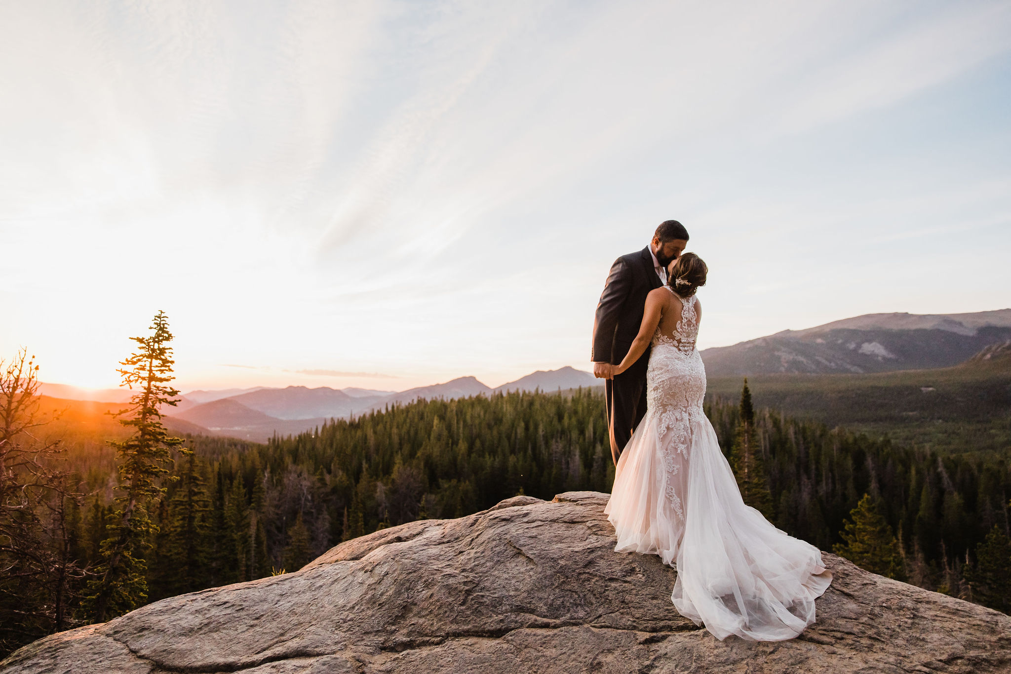 Colorado Elopement Photographer | Sunrise Elopement