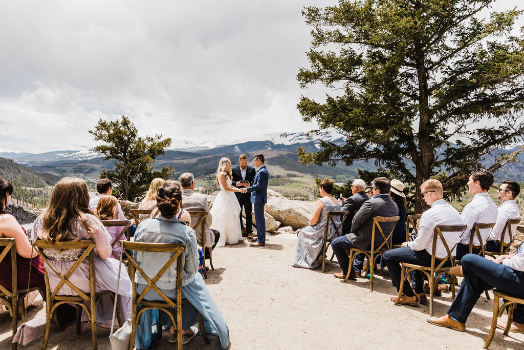 Colorado Elopement Photographer | Intimate Mountain Ceremony