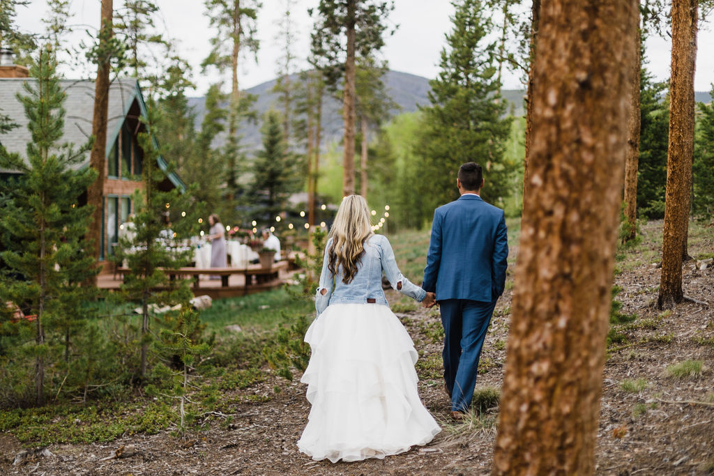 Colorado Elopement Photographer | Cabin Intimate Wedding