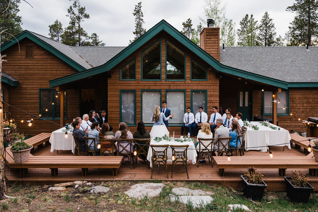 Colorado Elopement Photographer | Intimate Cabin Elopement