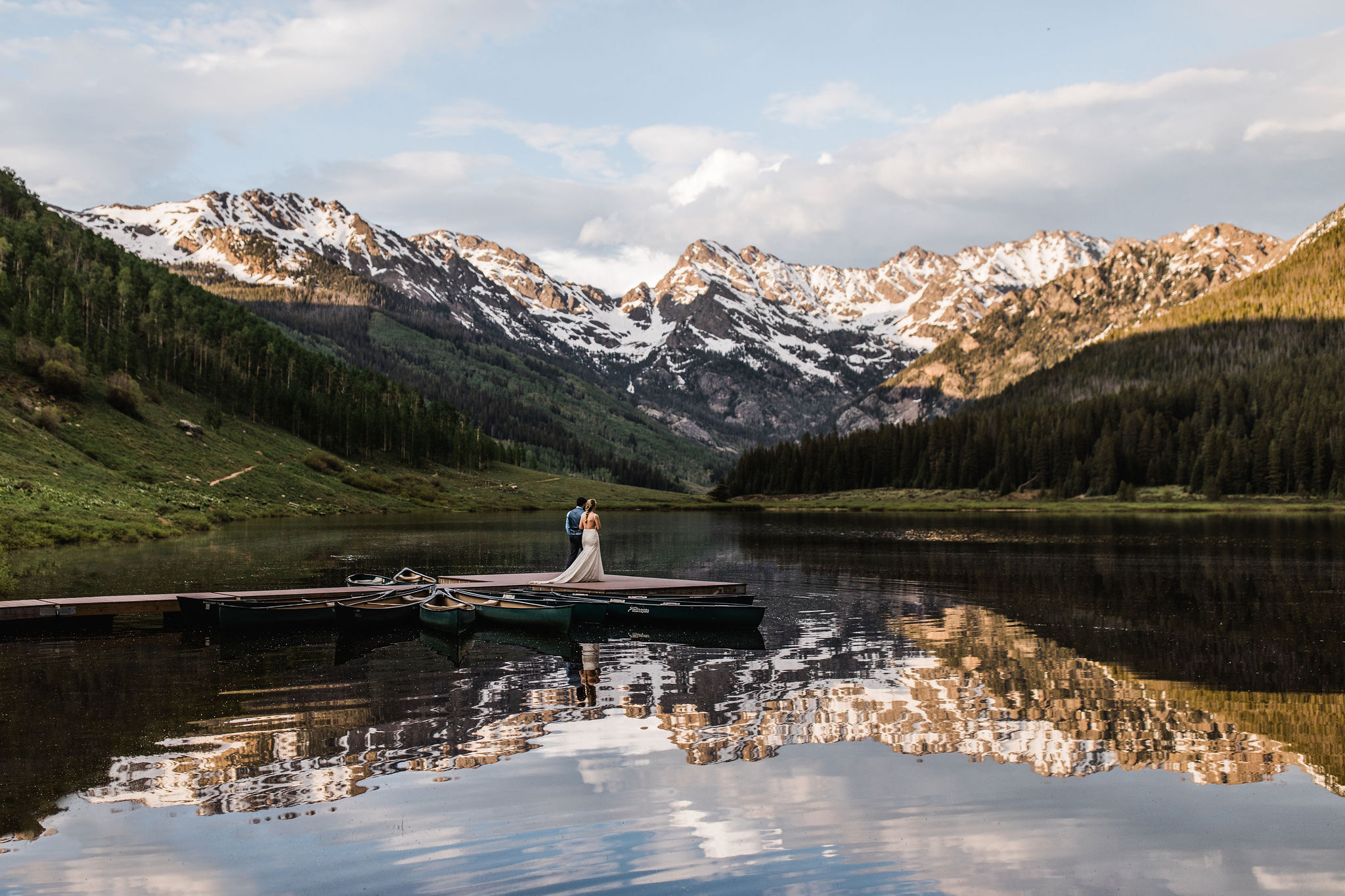 Colorado Elopement Photographer | Alpine Lake Elopement