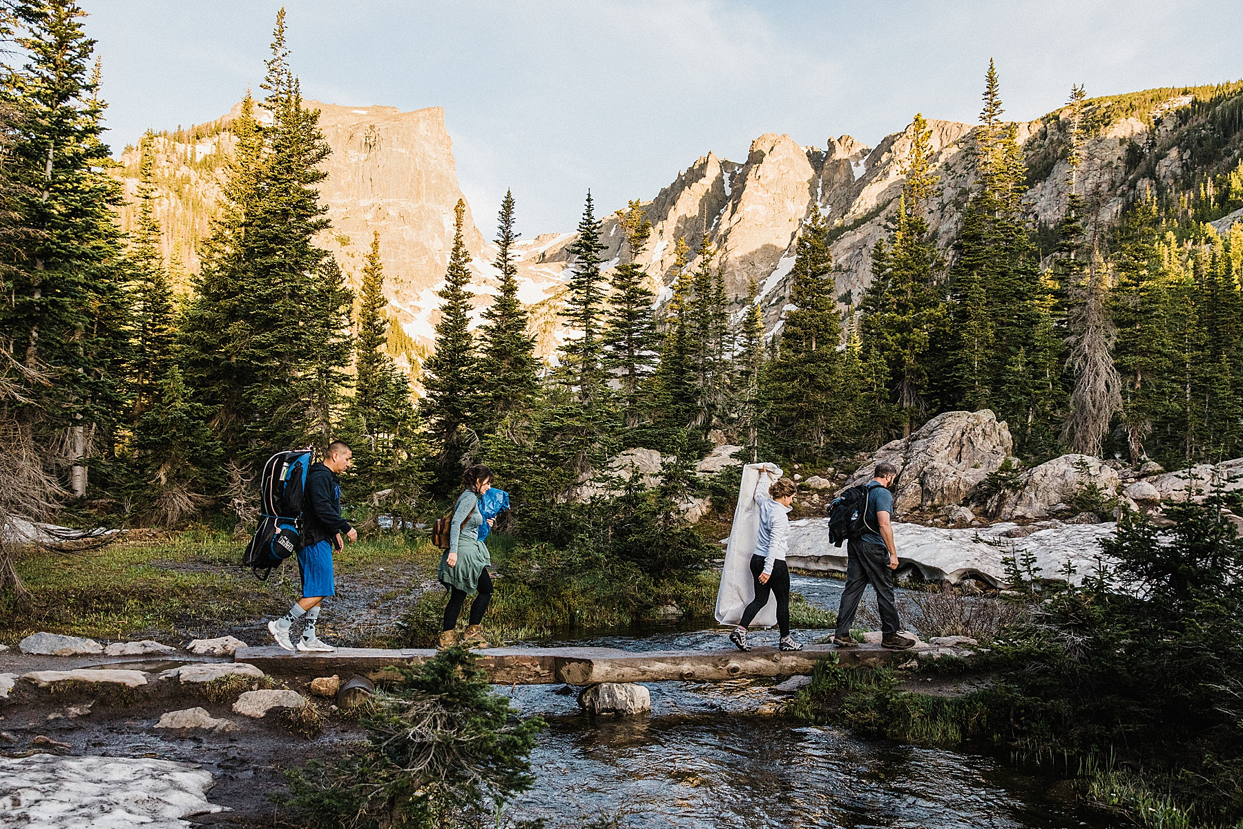 Sunrise Dream Lake Elopement | Colorado | Vow of the Wild