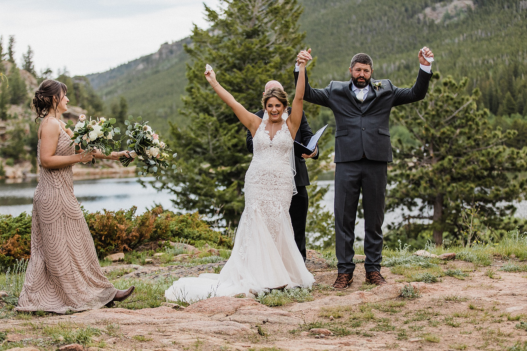 Lily Lake Elopement in Rocky Mountain National Park | Vow of the Wild