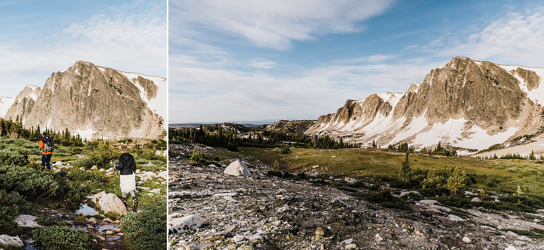 Sunrise Wyoming Hiking Elopement | Vow of the Wild