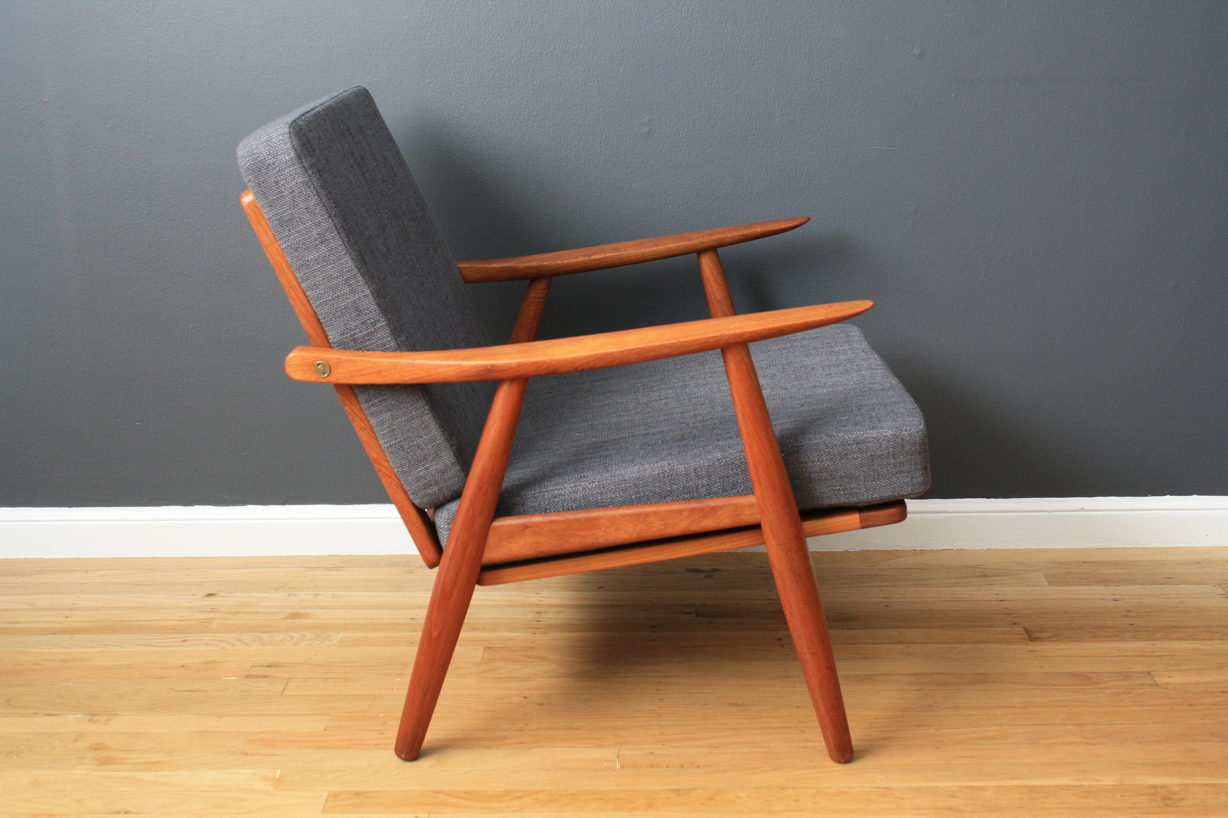 Danish Modern Hans Wegner Lounge Chair