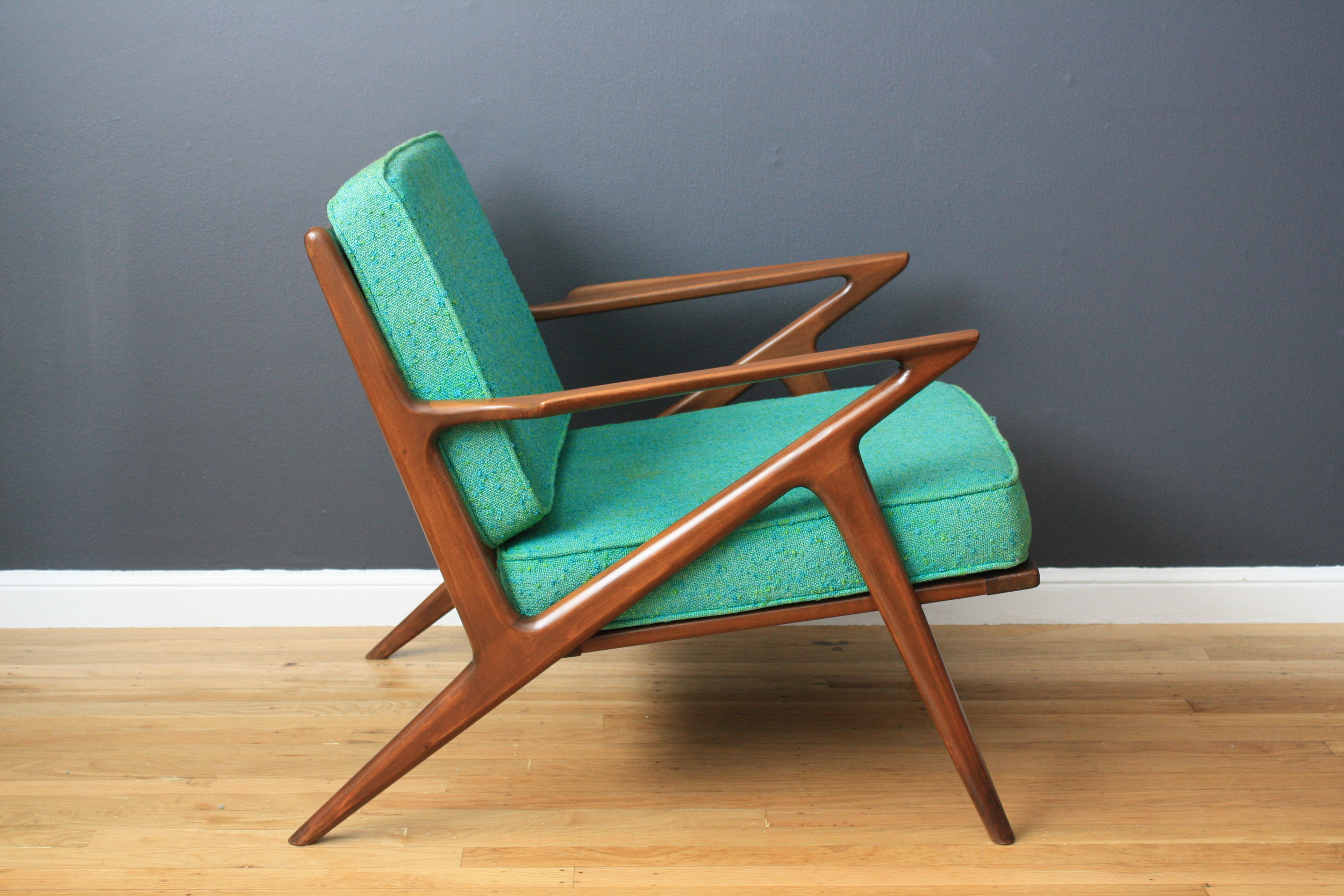 "Copy of Vintage Mid-Century ""Z"" Chair by Poul Jensen"