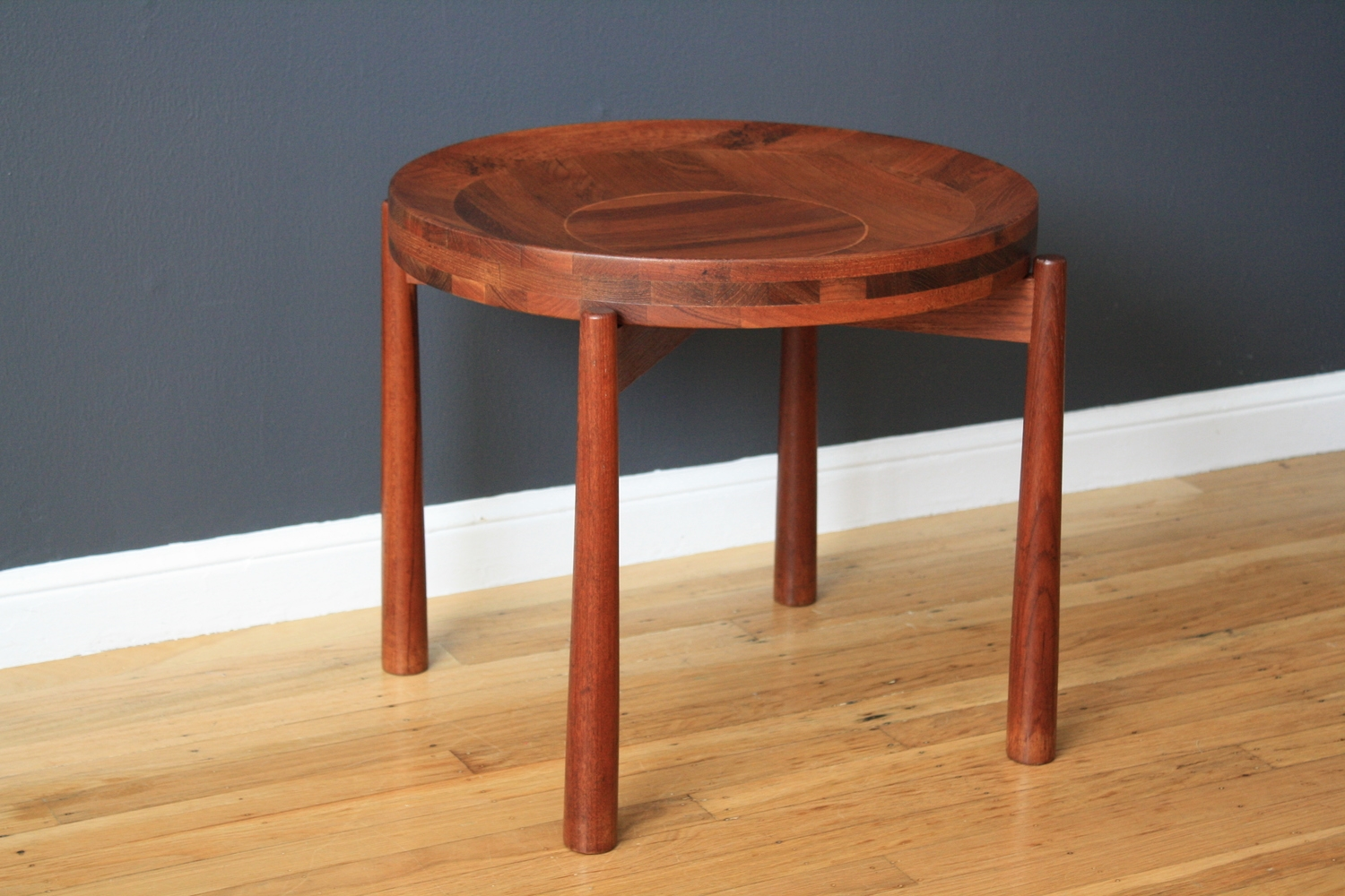 Vintage Mid-Century Jens Quistgaard Side Table