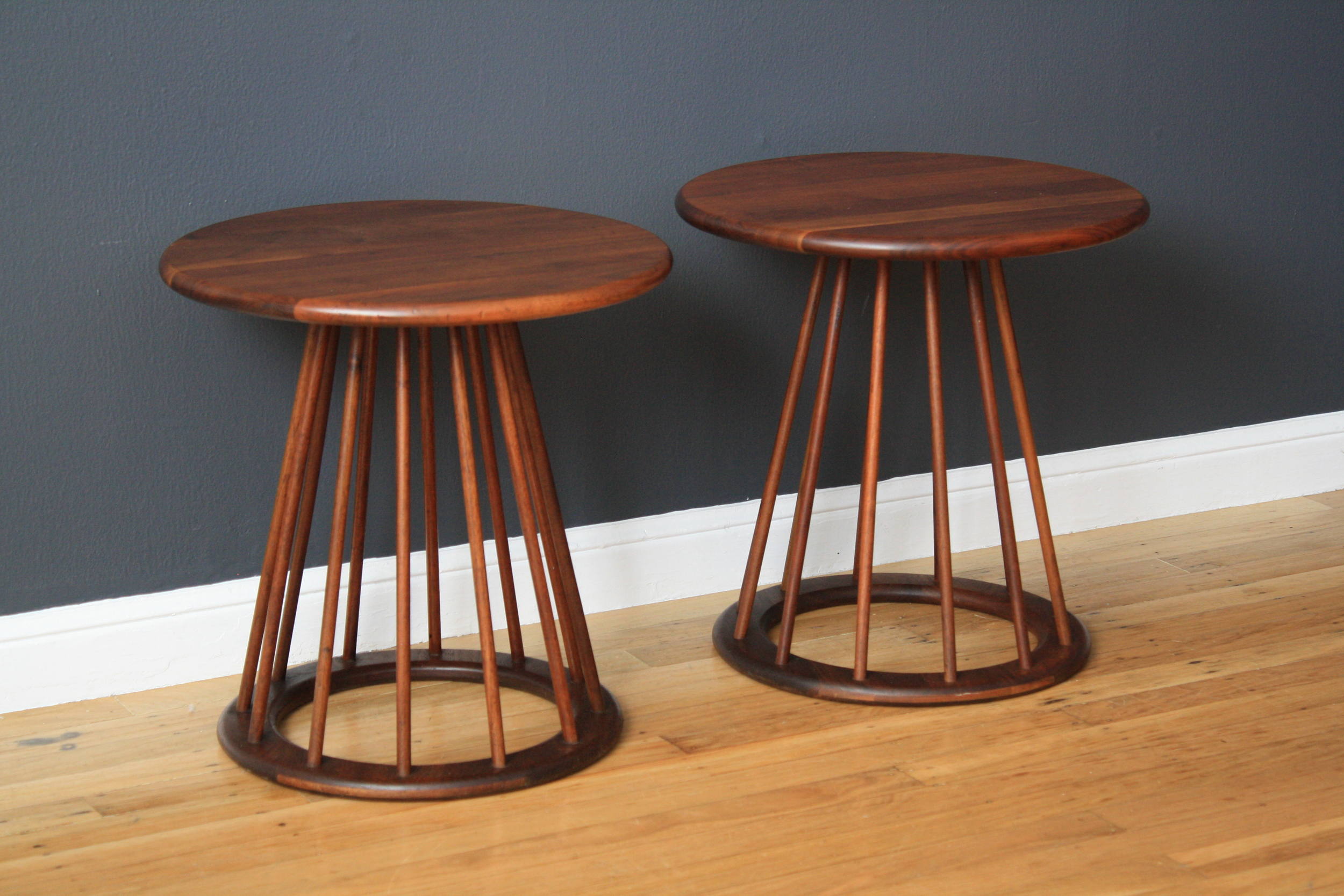 Pair of Vintage Mid-Century Side Tables