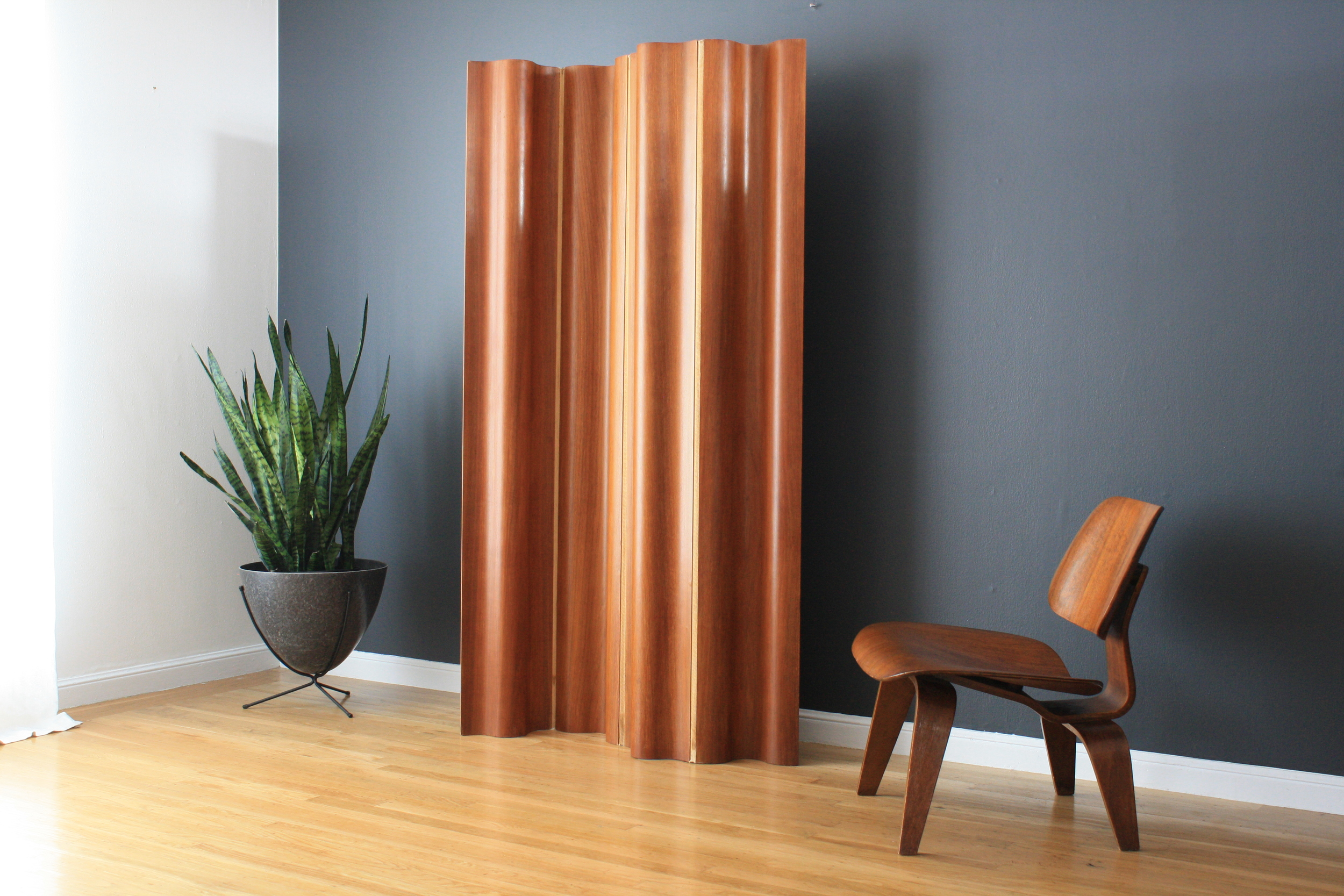Vintage Wood Screen by Eames for Herman Miller