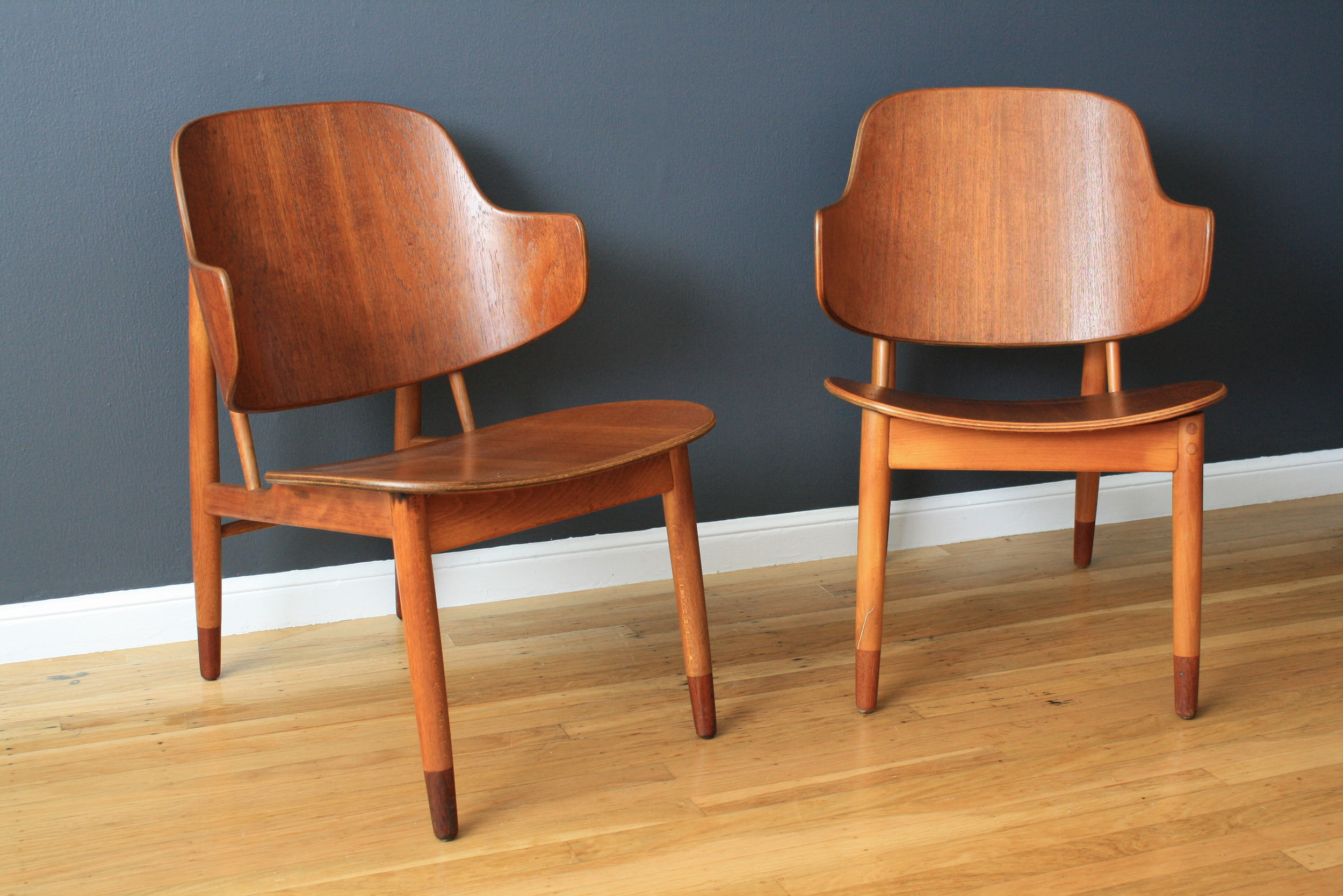 Pair of Danish Modern Chairs by IB Kofod Larsen