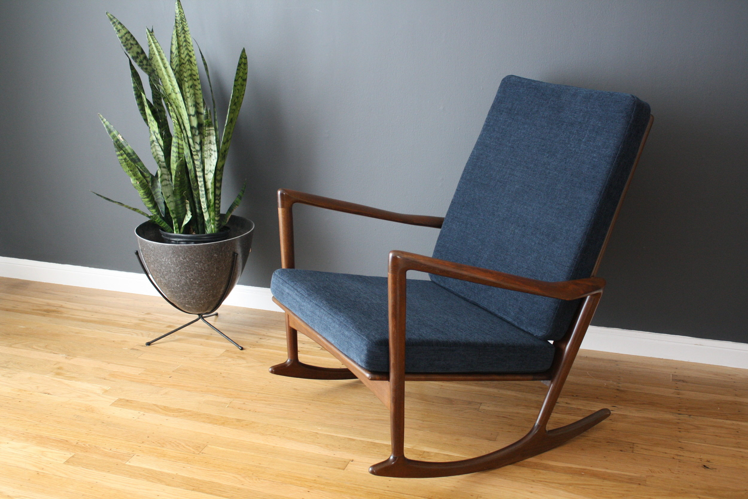 Danish Modern Rocker by Ib Kofod Larsen for Selig