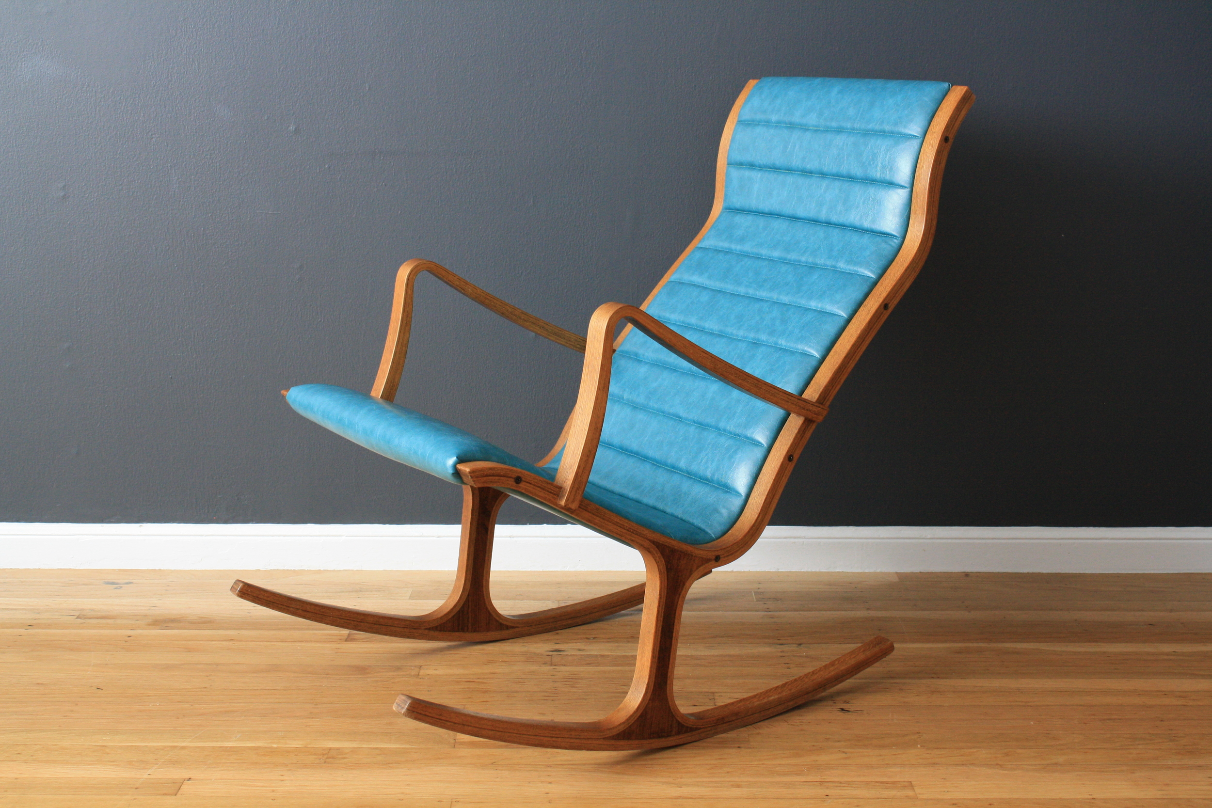 Vintage Heron Rocker by Mitsumasa Sugasawa for Tendo Mokko