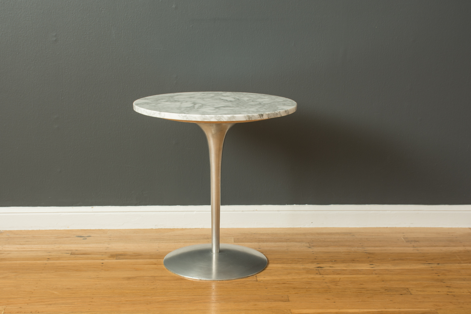 Vintage Mid-Century Tulip Side Table by Erwine & Estelle Laverne