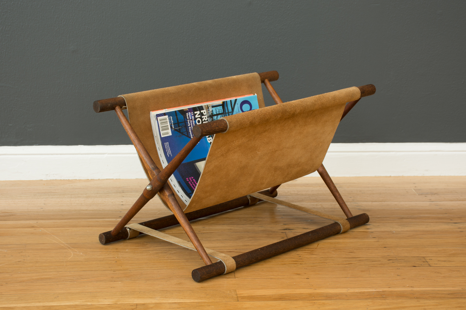 Copy of Vintage Mid-Century Folding Magazine Rack