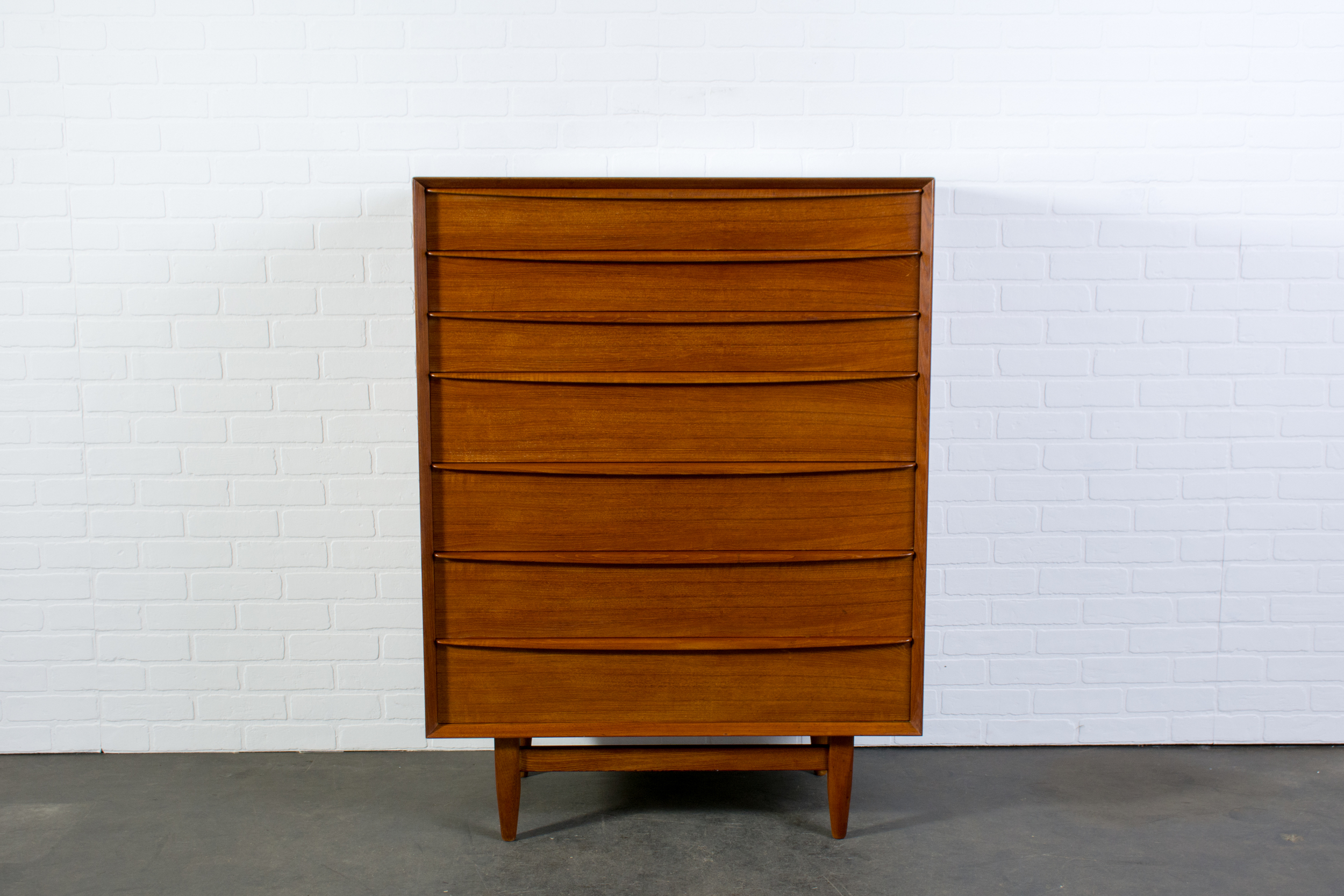 Danish Modern Teak Dresser by Falster