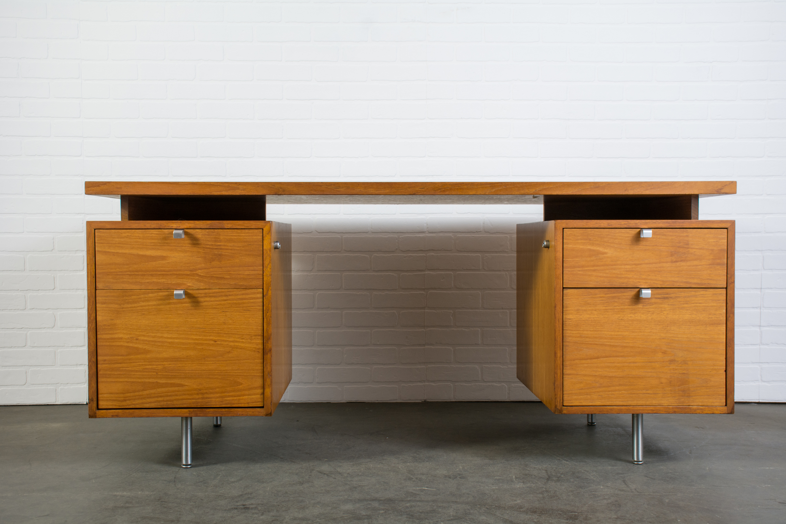 Mid-Century Modern Executive Desk by George Nelson for Herman Miller