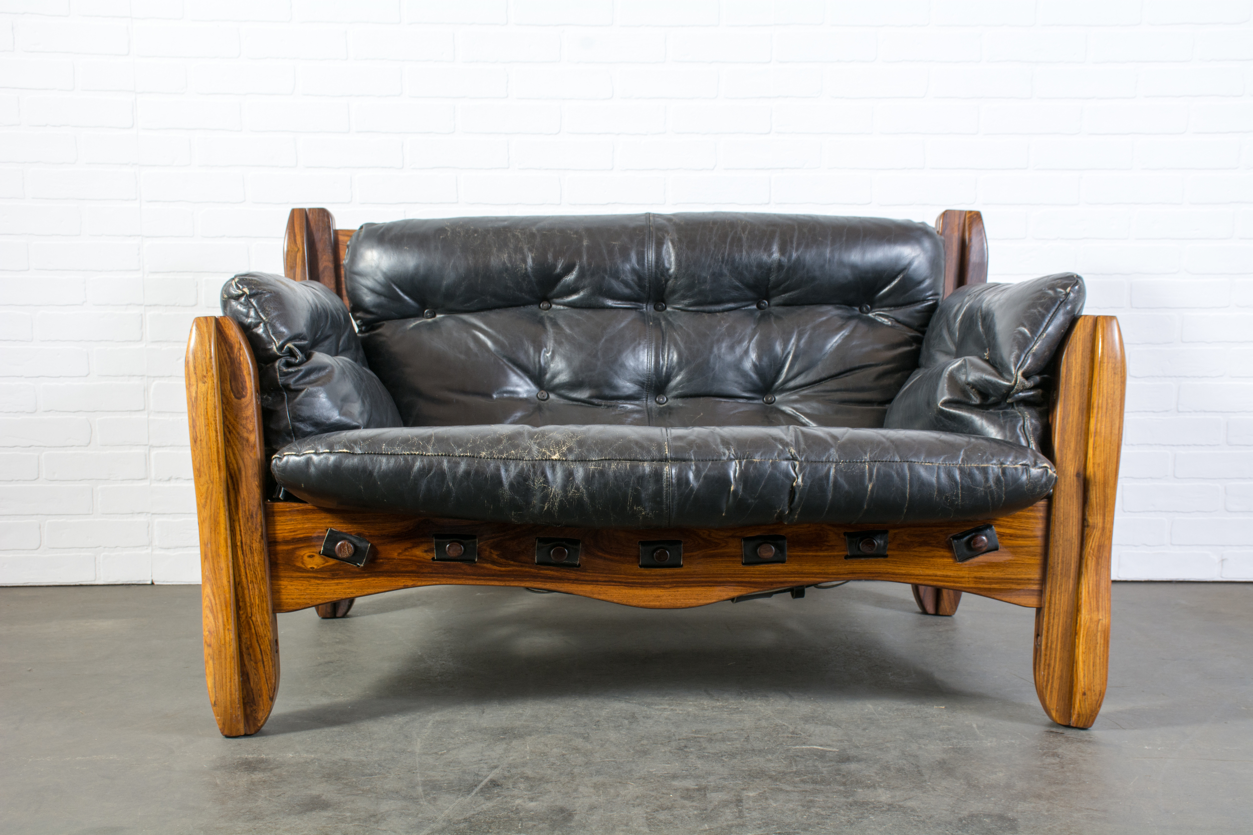Rare Descanso Loveseat Sofa by Don Shoemaker