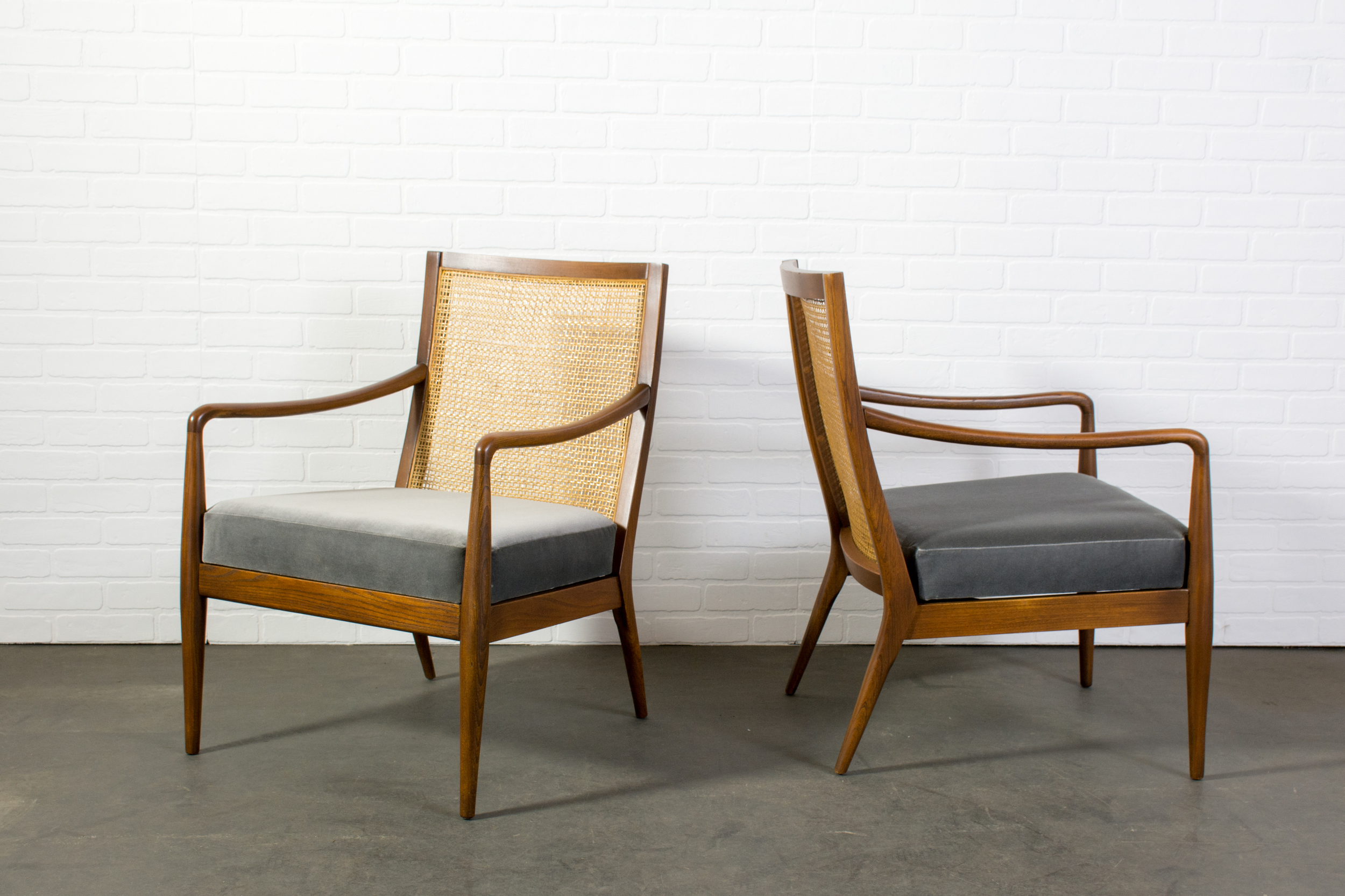 Pair of Vintage Mid-Century Chairs by Richardson Nemschoff