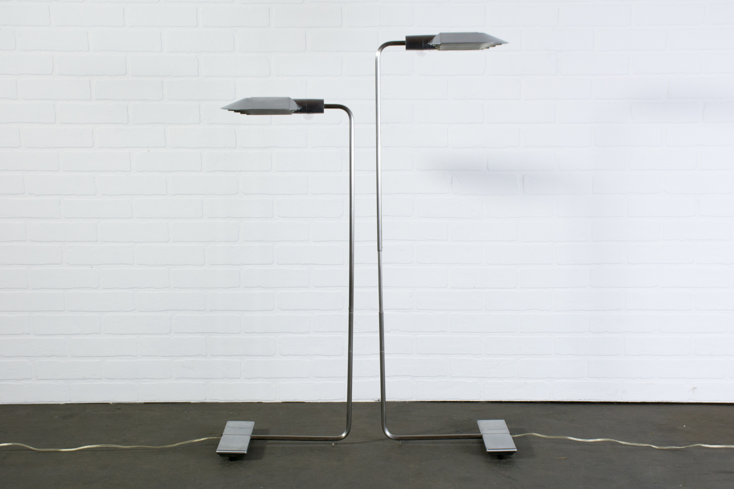Pair of Floor Lamps by Cedric Hartman