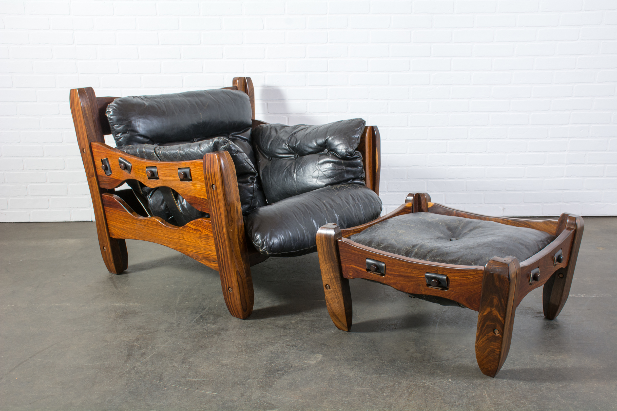Descanso Chair and Ottoman by Don Shoemaker