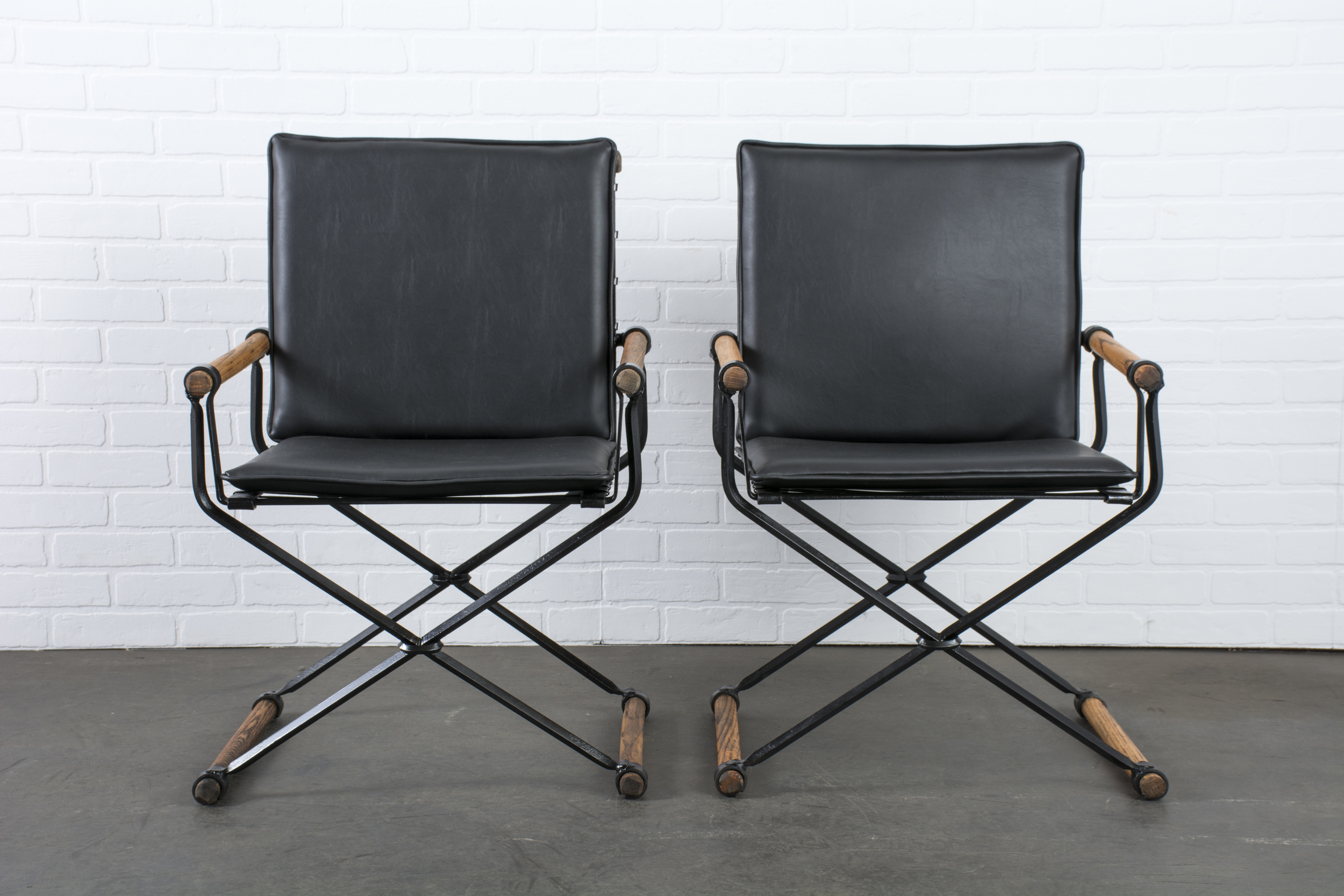 Pair of Vintage Armchairs by Cleo Baldon