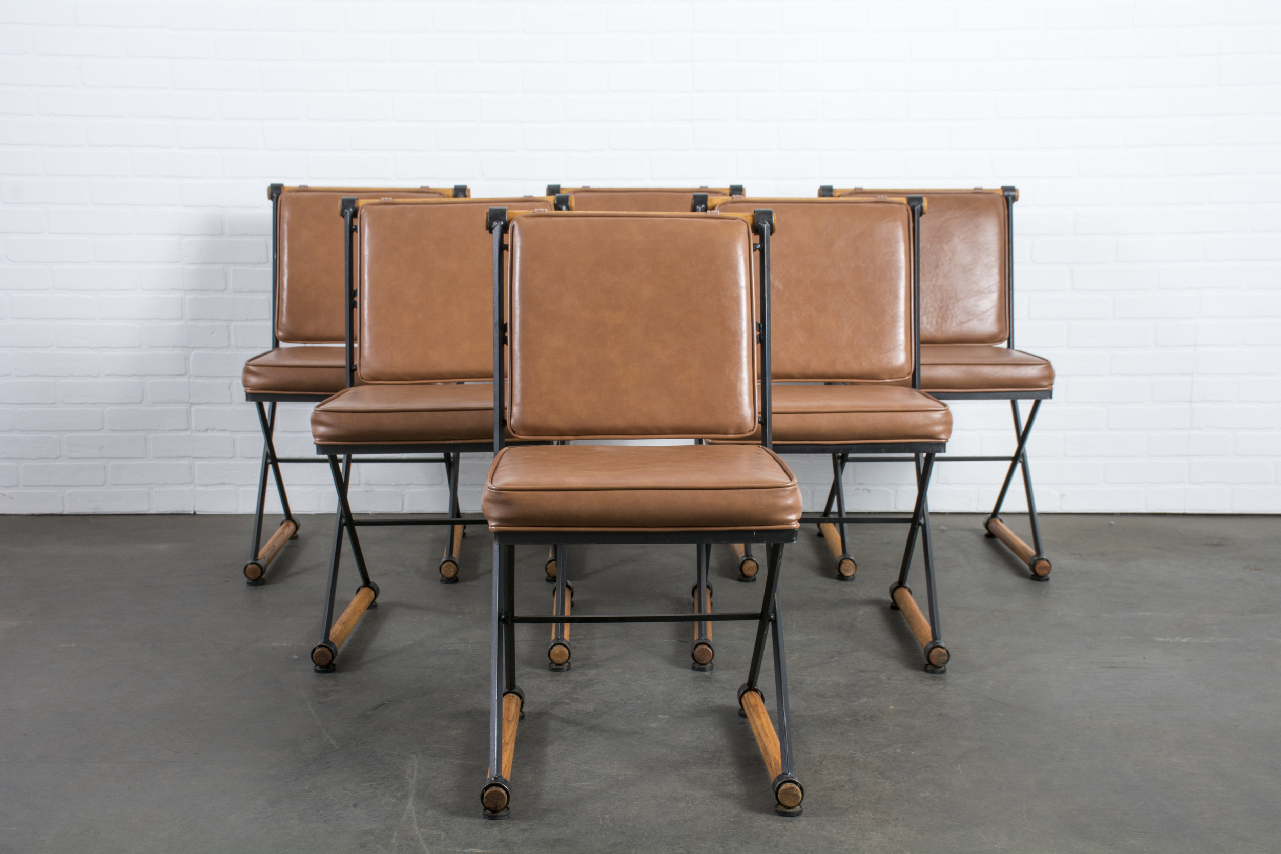 Set of Six Vintage Cleo Baldon Chairs