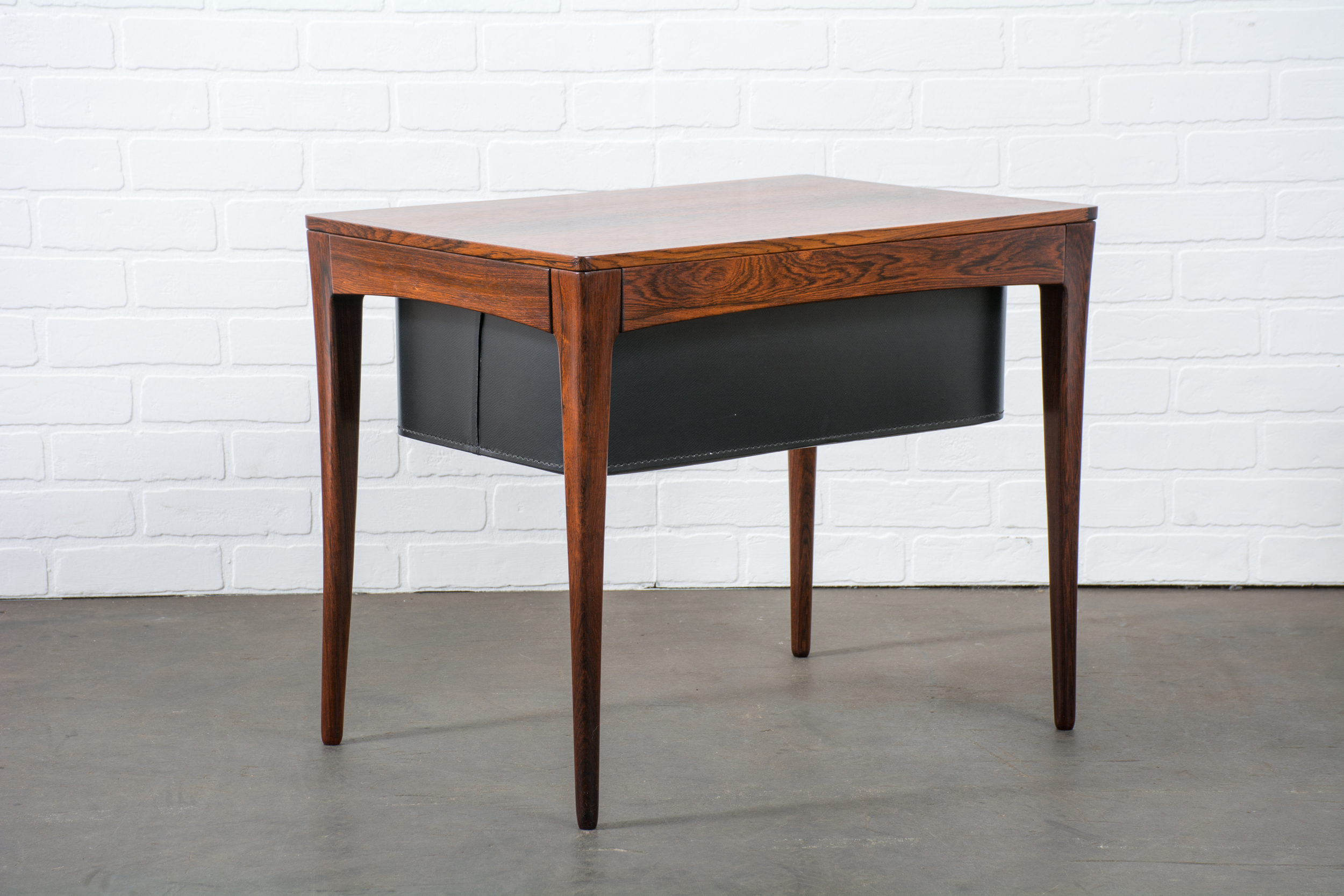 Vintage Mid-Century Rosewood Side Table