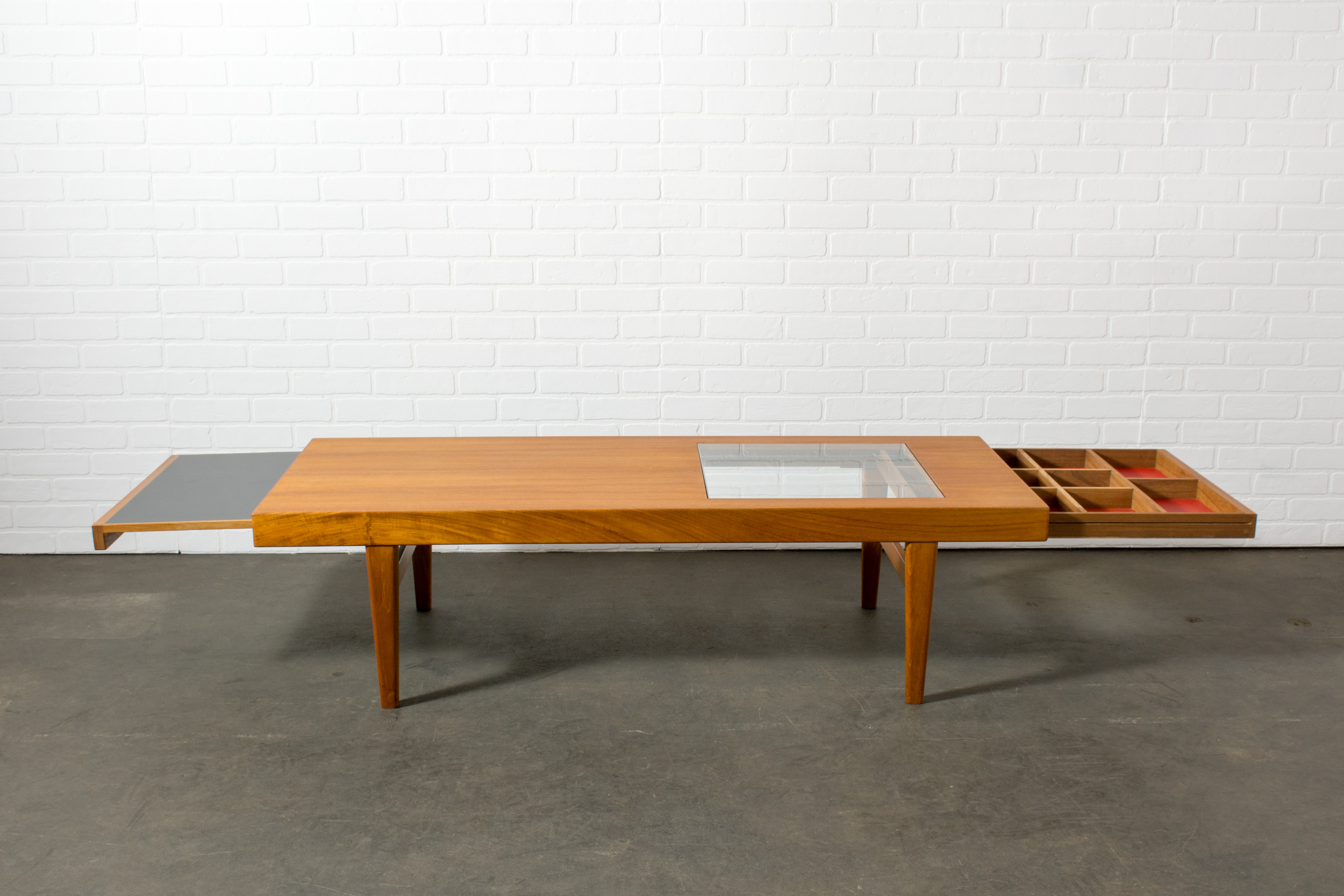 Rare Danish Modern Coffee Table by Selig