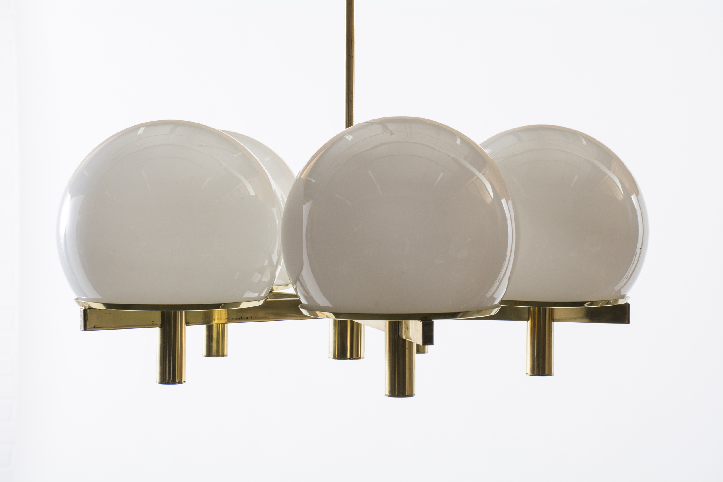 Five-Arm Chandelier by Gaetano Sciolari