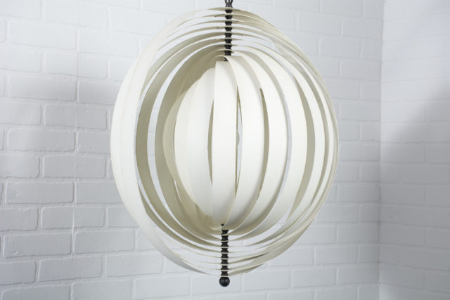 Copy of Mid-Century Modern Hanging 'Moon' Lamp