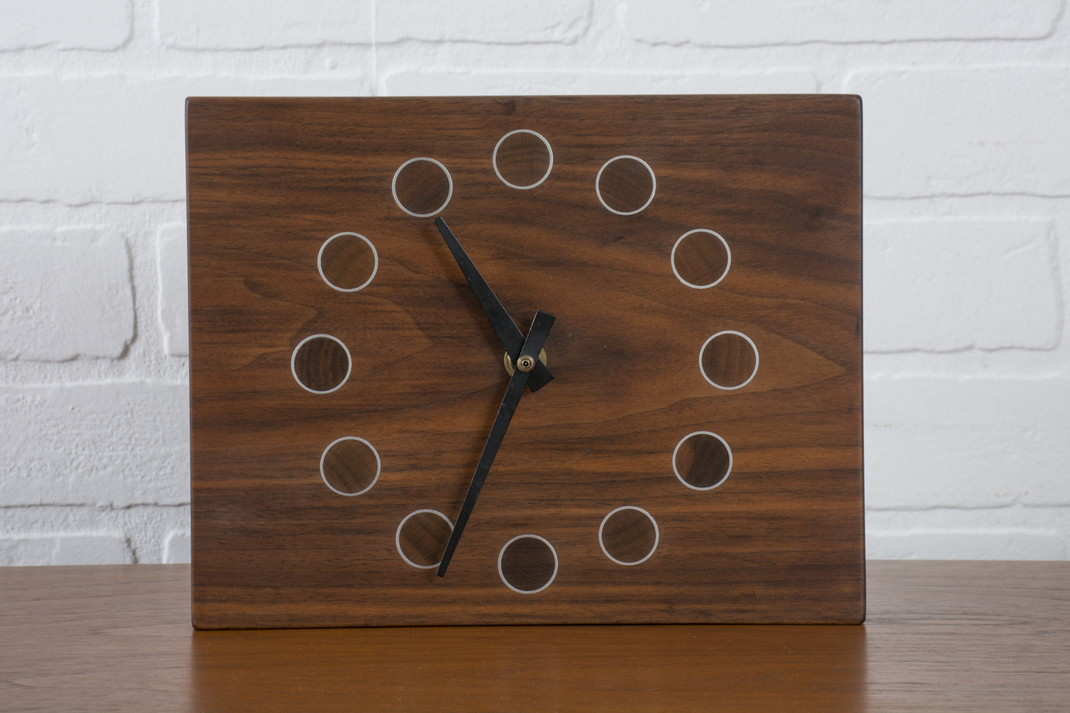 Copy of Vintage Mid-Century Wood Clock