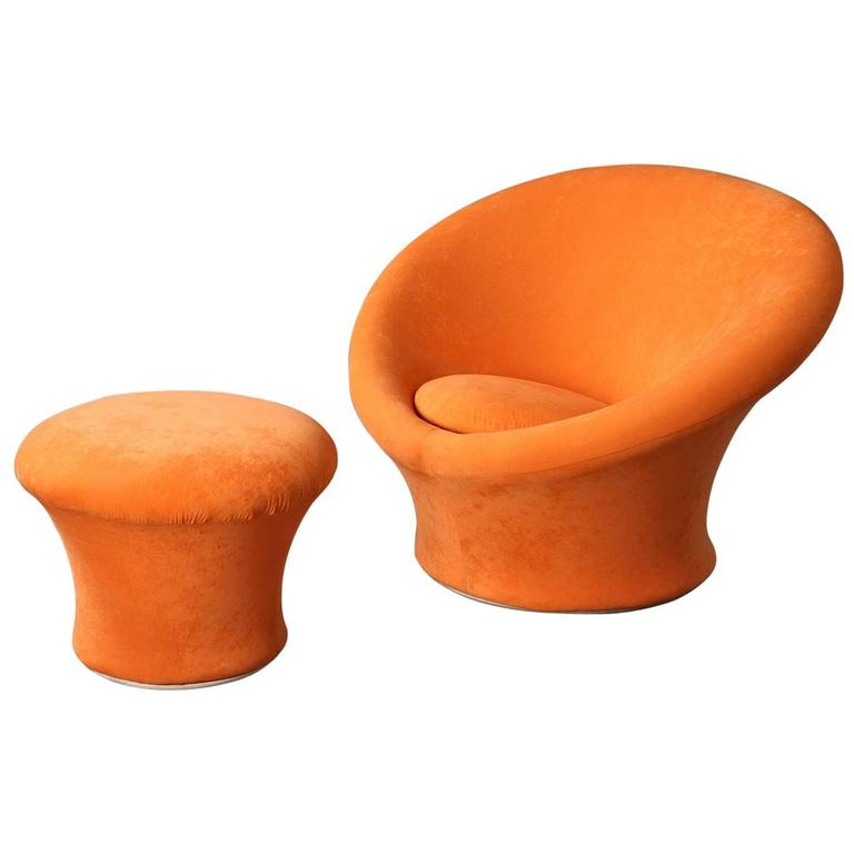 Mushroom Chair and Ottoman. Photo: 1stdibs/Atena