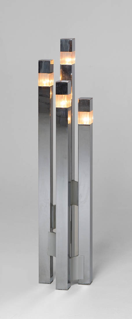Gaetano Sciolari Floor Lamp | Photo: Pinterest