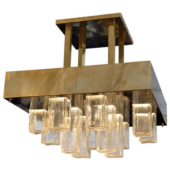 Gaetano Sciolari Chandelier | Photo: 1stdibs