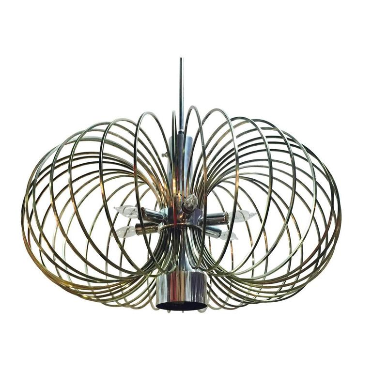 Gaetano Sciolari Bird Cage Chandelier | Photo: Again & Again/1stdibs