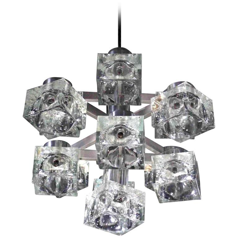 Gaetano Sciolari 'Cubic' Chandelier | Photo: Soho Treasures/1stdibs