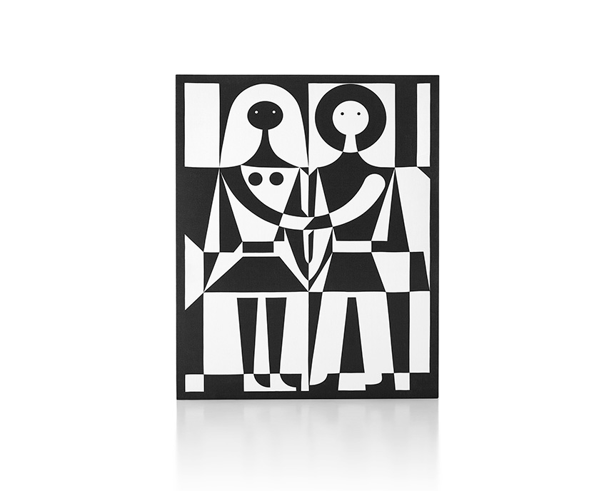 Black and White Girard Environmental Enrichment Panel | Photo: Herman Miller