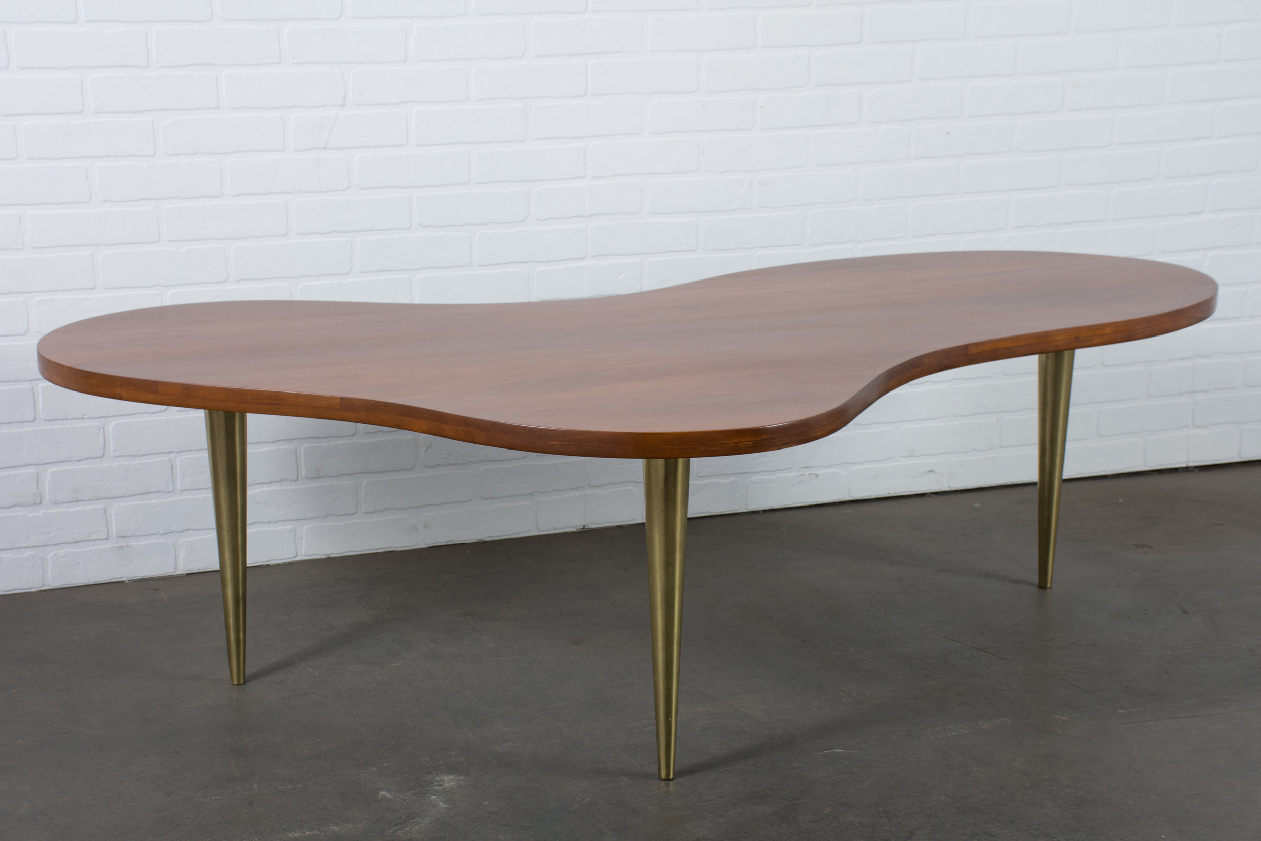 T.H. Robsjohn-Gibbings Biomorphic Coffee Table for Widdicomb