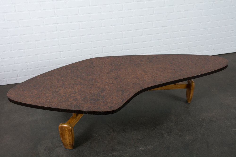 John Keal for Brown Saltman Coffee Table, 1950s