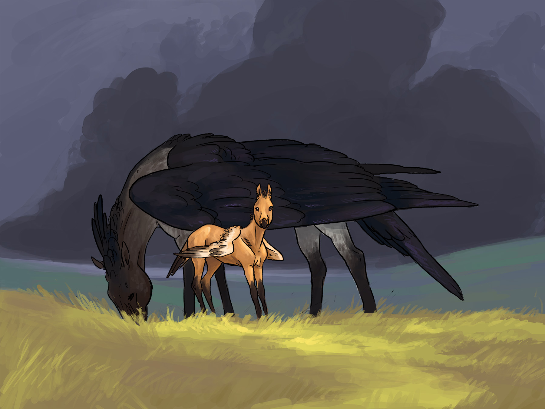 mare and foal -web more red.jpg