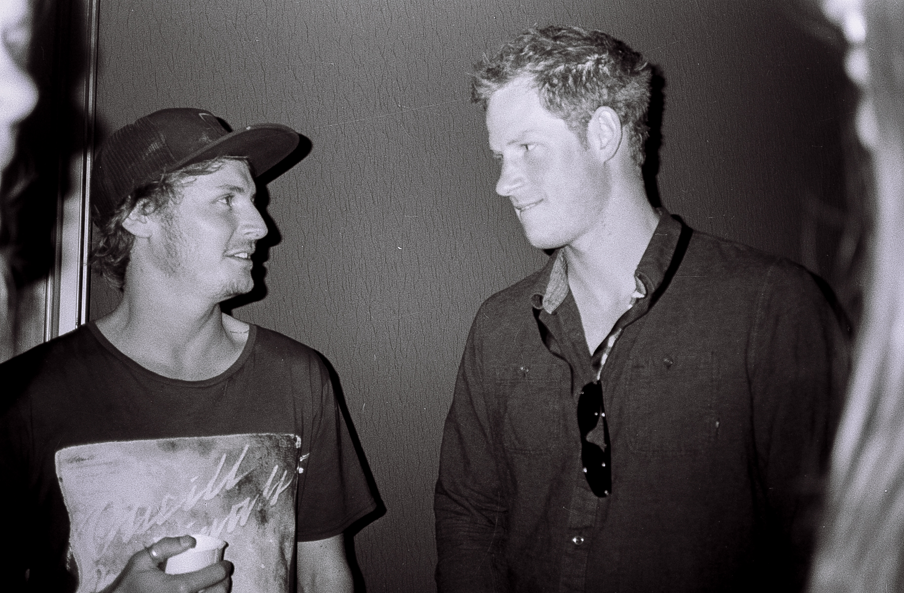 Ben Howard and Prince Harry