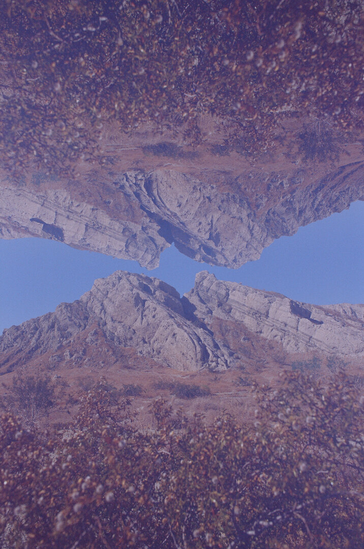 Kodak Ektachrome 100SW, Double Exposure