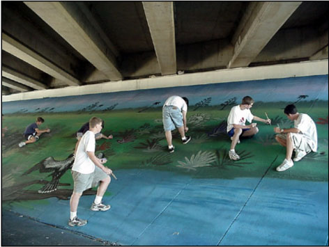 I-75 and Newberry Road Underpass Mural