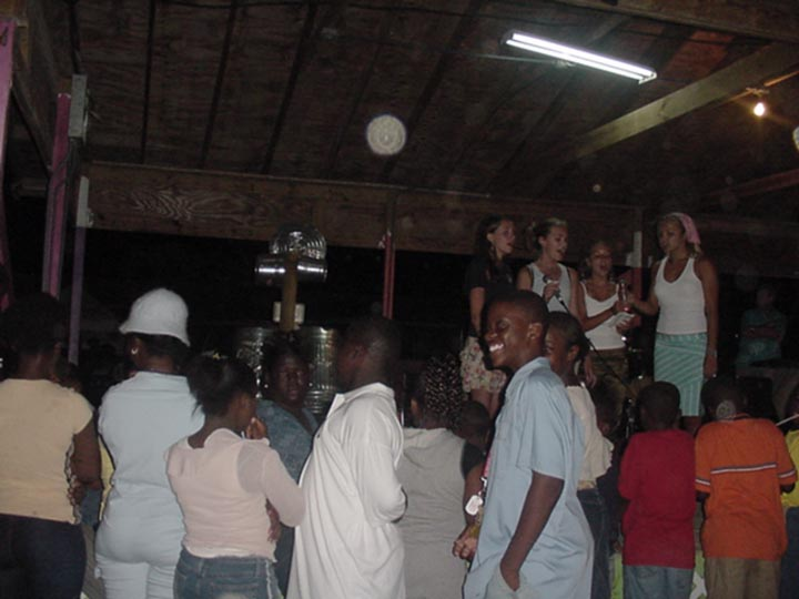 Music project in Andros Island, the Bahamas