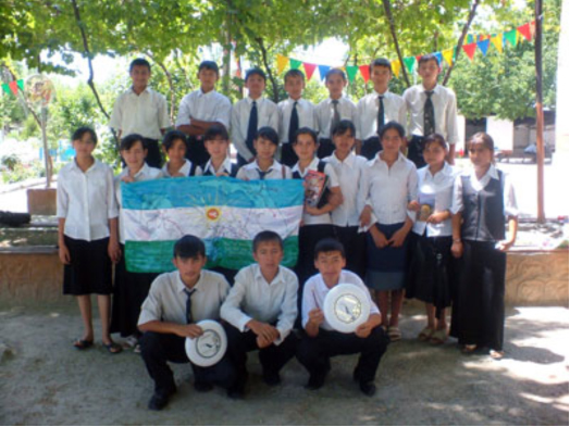 Gifts for our friends in Uzbekistan