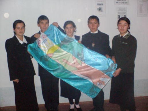 Gift from our friends in Uzbekistan