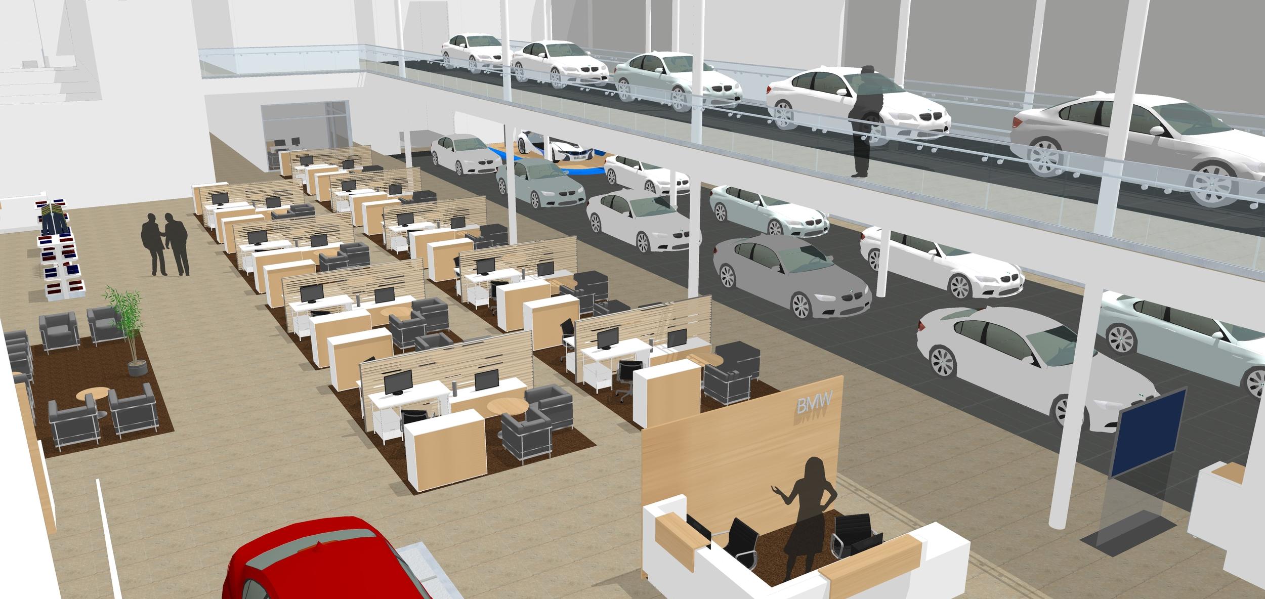 BMW Interior Concept, Texas