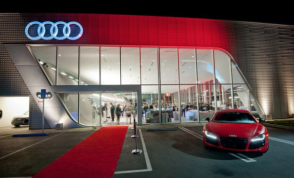 Audi Pacific | LEED® Gold Certified | ©Image LAcarGuy