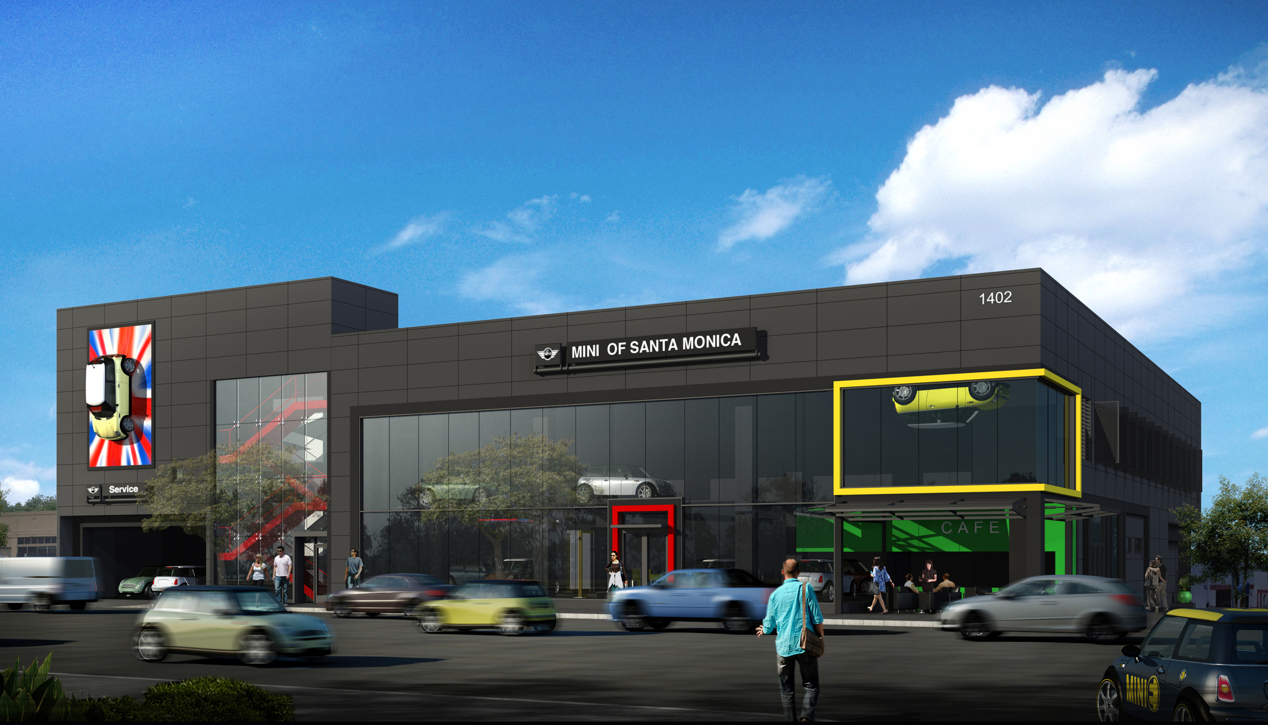 MINI of Santa Monica, Targeting LEED® Platinum Certification