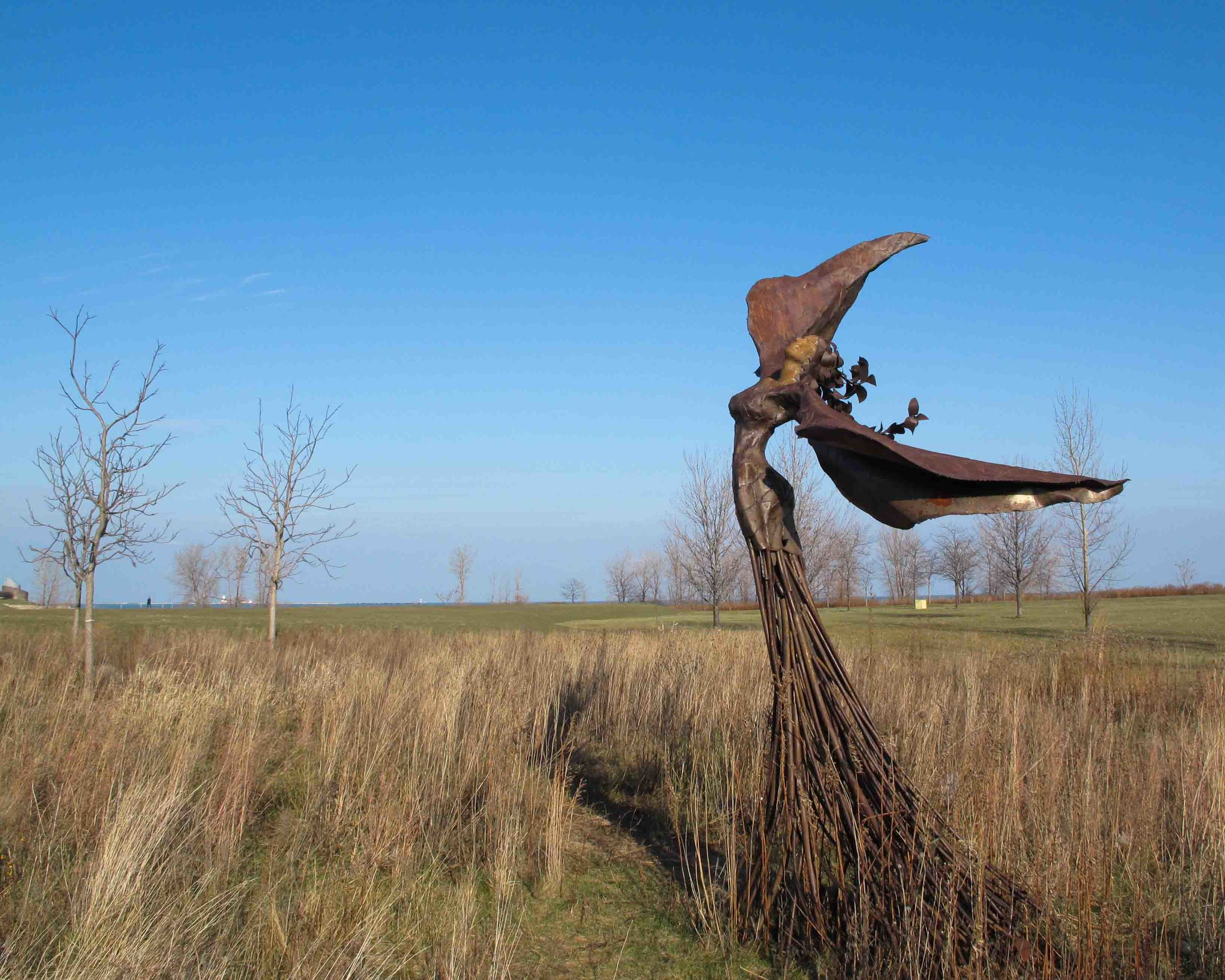 A steel fairy I found in a field. Never heard of a steel fairy but this serves as proof of their existence!